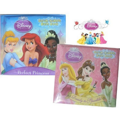 Disney Princesses Bath Books