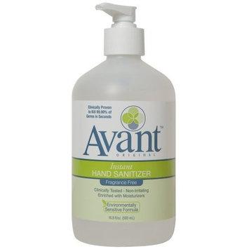 Avant Original Fragrance Free Avant Original Fragrance-Free Instant Hand Sanitizer: 16.9 Oz. Pump Bottle (12 Units)