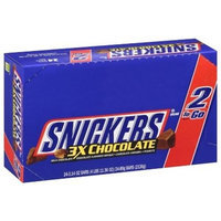 Mars Snickers 3X Chocolate 2 to Go Bars