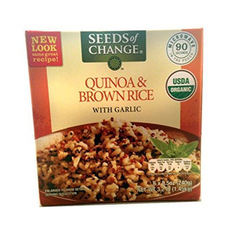 Seeds of Change Organic Quinoa and Brown Rice, 8.5 Ounce, 6 Count