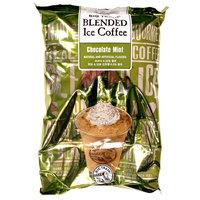 Big Train Chocolate Mint Blended Ice Coffee Mix - 3.5 lb. Bag