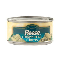 Reese Cherrystone Whole Shelled Maine Clams, 6.5-Ounce Cans (Pack of 6)