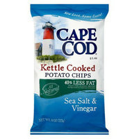 Cape Cod Kettle Cooked Sea Salt & Vinegar 40% Reduced Fat Potato