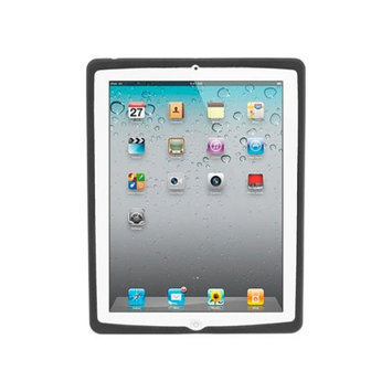 Monoprice Premium Silicone Case for iPad 2, iPad 3, iPad 4 - Black