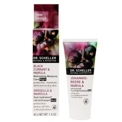 Dr. Scheller Refreshing Moisture Care, Night, Black Currant & Marula, 1.4 oz