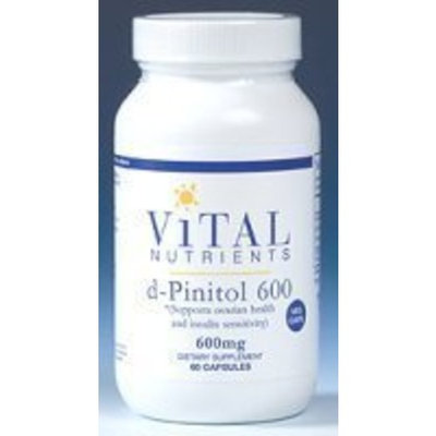 Vital Nutrients - d-Pinitol 600mg 60 caps Health and Beauty