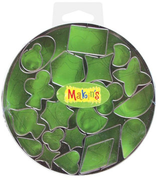 Makin's Usa Makin'S Usa Geo 22/Pkg-Clay Cutter Set
