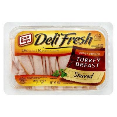 Oscar Mayer Deli Fresh Shaved Honey Smoked Turkey Breast 9 oz