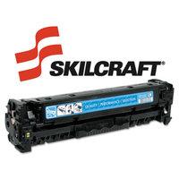 Skilcraft SKILCRAFT SKL-CC531A SKILCRAFT Remanufactured (304A) Toner, 2800 Page-Yield, Cyan
