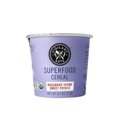 Vigilant Eats - Organic Superfood Oat-Based Cereal Rosemary Thyme Sweet Potato - 2.7 oz.