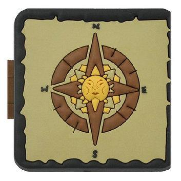 GeoPalz Sunburst Compass Pedometer