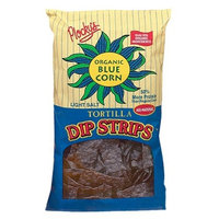 Plocky's Tortilla Dip Strips, Blue Corn, 6-Ounce Bags (Pack of 12)