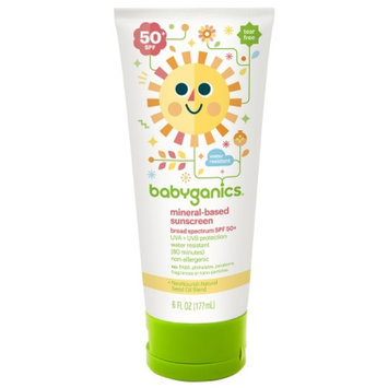 BabyGanics Cover Up Baby Sunscreen for Face & Body SPF 50+