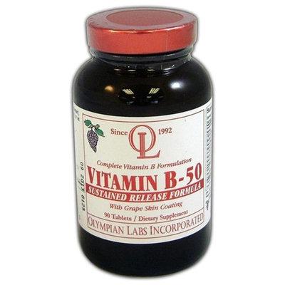 Olympian Labs, Vitamin B-50 90 Tablets