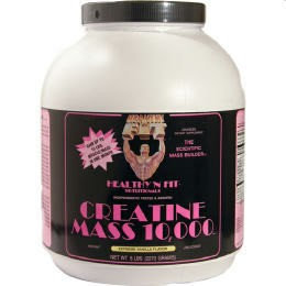 Healthy N Fit Healthy'N Fit Nutritionals Creatine Mass 10000 Vanilla Ice Cream 5 lbs