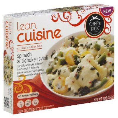 Lean Cuisine 10.5oz Chef's Pick Spinach & Artichoke Ravioli