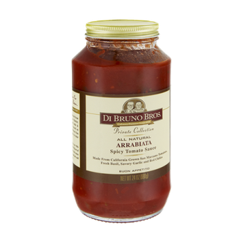 Di Bruno Bros Private Collection All Natural Arrabiata Spicy Tomato Sauce