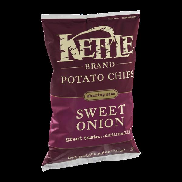 Kettle Brand Potato Chips Sweet Onion