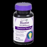 Natrol Biotin 10,000mcg Tablets - 100 CT