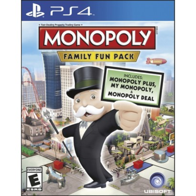 UBI Soft Monopoly Family Fun Pack (PlayStation 4)