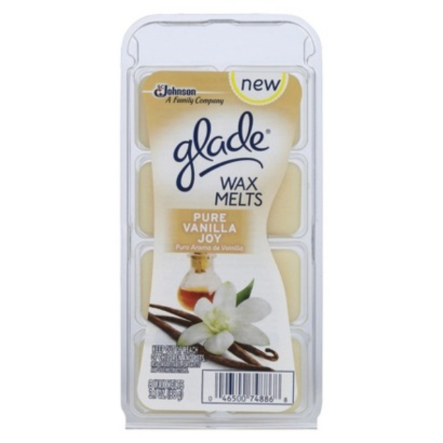 Glade Scented Wax Melts Refill 8 ct - Pure Vanilla Joy