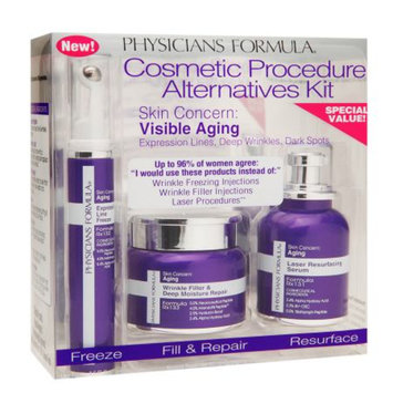 Physicians Formula Cosmetic Procedure Alternatives Kit, Skin Concern: Visible Aging, 1 kit