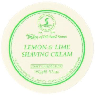 Taylor of Old Bond Street Lemon - Lime Shaving Cream Jar, 5.3-Ounce