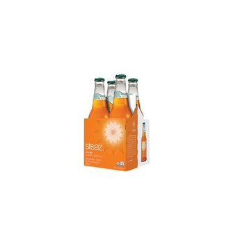 Steaz, Organic Sparkling Green Tea Orange, 6/4/12 Oz