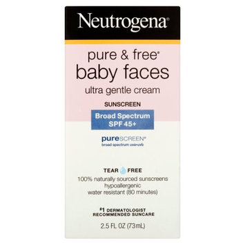 Neutrogena® Pure and Free Baby Faces Sunscreen, SPF 45+