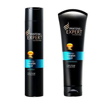 Pantene Pro-V Expert Collection Advanced Keratin Repair Shampoo + Conditioner Set