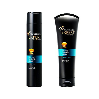 Pantene Pro-V Expert Collection Advanced Keratin Repair Shampoo + Conditioner Set