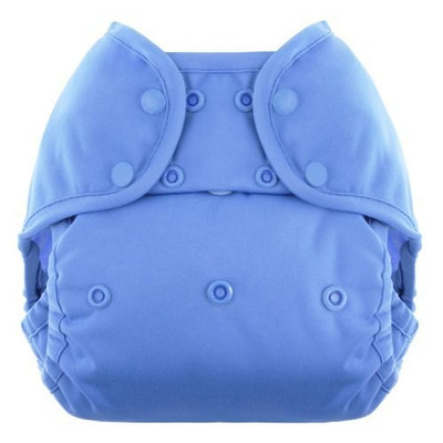 Blueberry Coveralls Diaper Snap, Periwinkle (Discontinued by Manufacturer)