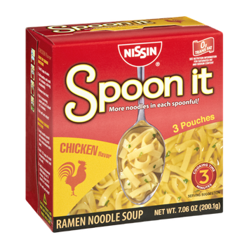 Nissin Spoon it Chicken Flavor Ramen Noodle Soup - 1 CT
