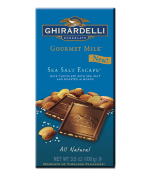 Ghirardelli Gourmet Milk Sea Salt Escape