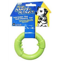 JW Pet Company Big Mouth Ring Single Dog Toy, Small (Colors Vary)