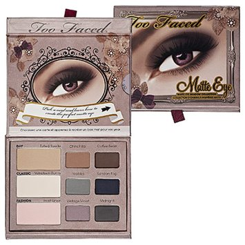 Too Faced Matte Eye Shadow Collection