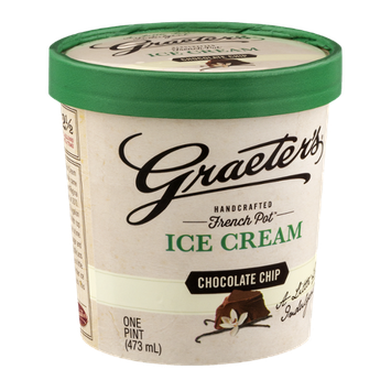 Graeter's Handcrafted French Pot Ice Cream Chocolate Chip