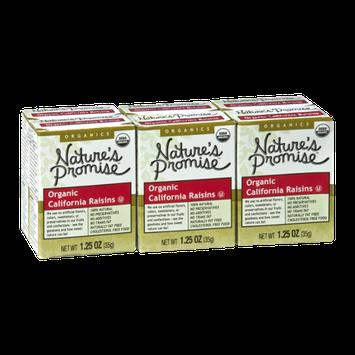 Nature's Promise Organics Organic California Raisins - 6 CT