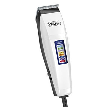 Wahl 9155-100 Color Code, 16 Piece Color Coded Haircutting Kit
