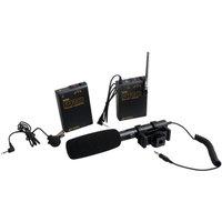 Azden WHD-PRO Wireless/Shotgun Microphone Audio Kit for DSLR