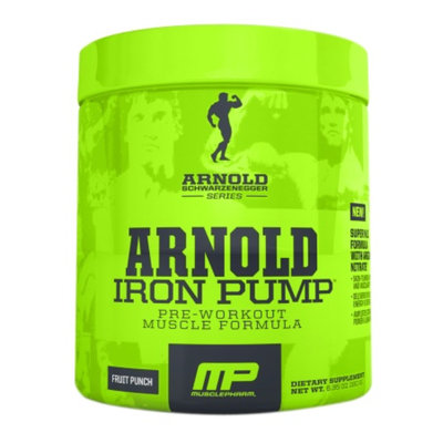 MusclePharm Arnold Schwarzenegger Series Iron Pump Fruit Punch