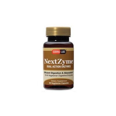 Sedona Labs Nextzyme-Dual Digestive Enzymes Capsules, 90-Count