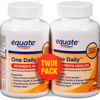 Equate One Daily Women's Health Tablets Multivitamin/Multimineral Supplement