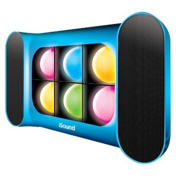 DreamGear i.Sound iGlow Sound Speaker System - Blue (ISOUND-5244)