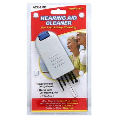 Acu-Life Audio Kit Hearing Aid Cleaner