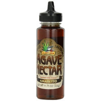 Madhava Organic Amaretto Agave, 11.75-Ounce (Pack of 6)