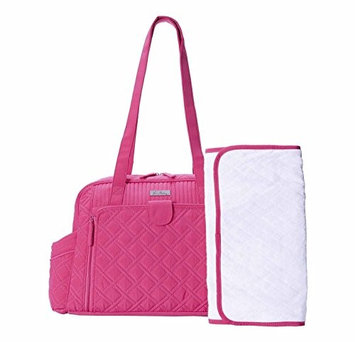 Vera Bradley - Make a Change Baby Bag (Fuchsia) Diaper Bags