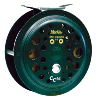 Zebco / Quantum Zebco - Quantum CC61 Martin Caddis Creek Fly Reel Single Action - Size 6-May
