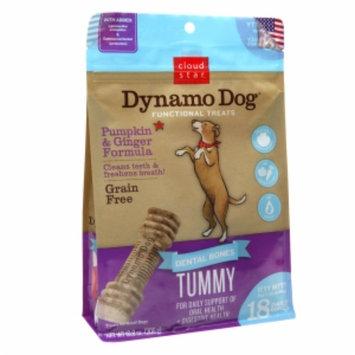 Cloud Star Dynamo Dog Functional Dental Bones, Tummy, Itty Bitty, 10.8 oz