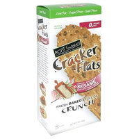 Aunt Gussie's Cookies Cracker Aunt Gussie's Cookies and Cracker Crckr Box, S/F, Splt, Sesame, 5-Ounce (Pack of 6)